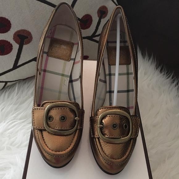 0e464028 Coach Shoes | Authentic Nwt Hillory Metallic Kid | Poshmark